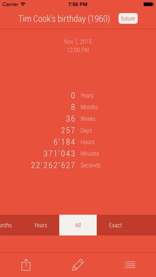 Countdown - Watch friendly countdowns