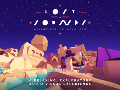 Adventures of Poco Eco - Lost Sounds: Experience Music and Animation Art in an Indie Game Screenshots