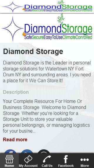 Diamond Storage