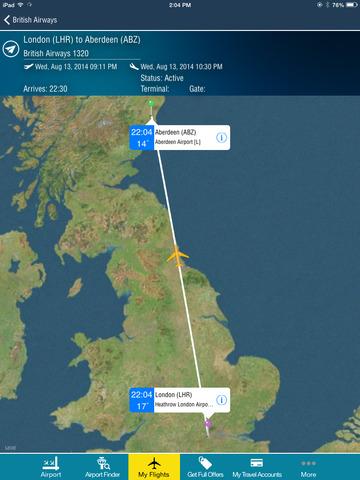 Aberdeen Airport + Flight Tracker Premium HD flybe eastern
