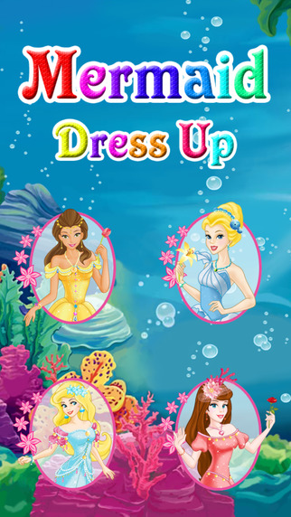 Mermaid Dress Up for Kids