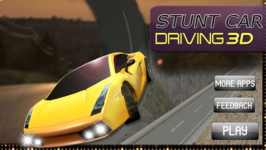 Stunt Car Driving Simulator 3d - Furious high speed dangerous stunts and racing game for teens and k