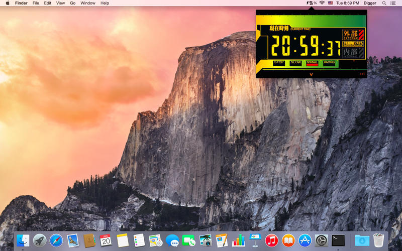 Battery Field - EVA 风格的电池小工具[OS X]丨反斗限免