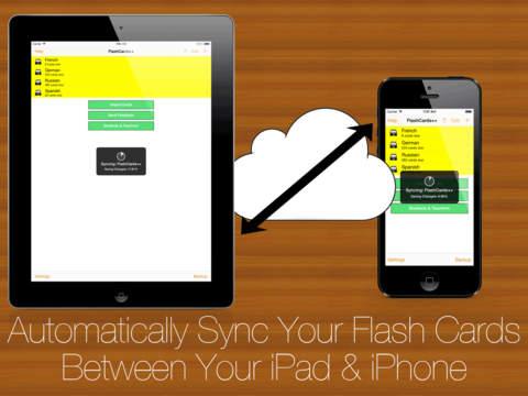 FlashCards++ iPad Screenshot 4