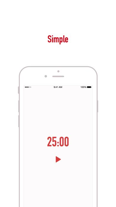 oPomodoro - Focus Efficiency Simple Screenshot