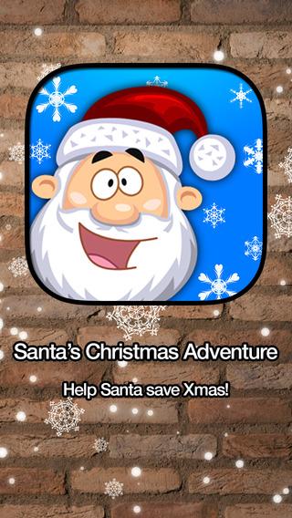 Santa's White Christmas Adventure: Elf Tap