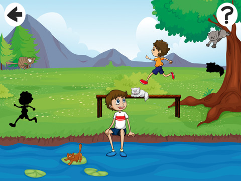 Активный! Shadow Игра Для Детей, Чтобы Учиться И Играть С Кошками
