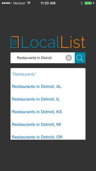 LocalList