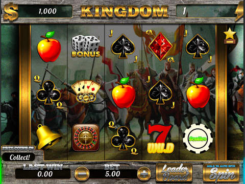 AAA Aalii Slots Casino Kingdom FREE Slots Game-ipad-0
