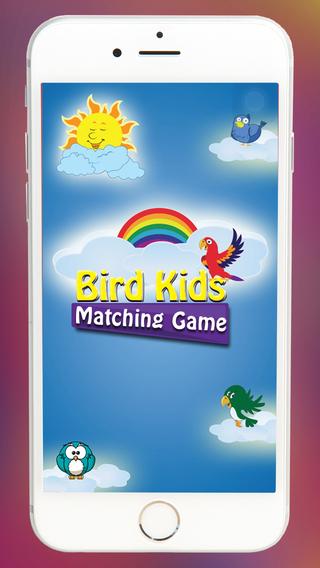 Bird Kids Matching Game