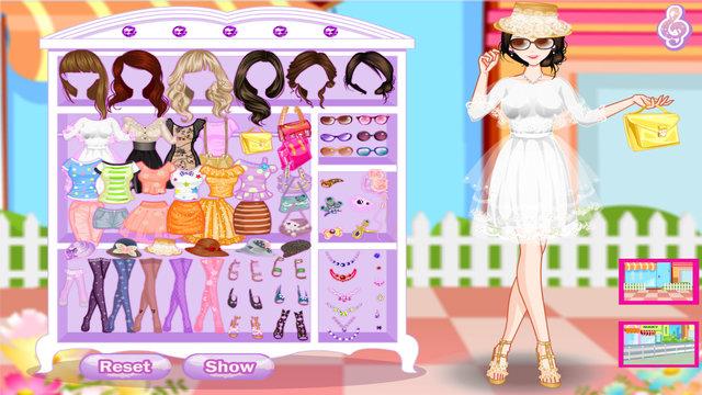Summer Pop Girls Dressup