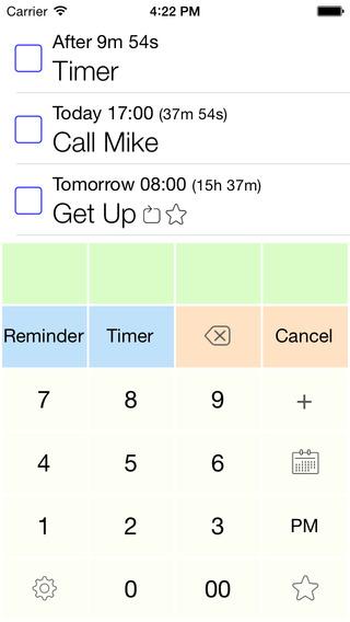 AnyReminder Free - extremely fast reminder timer alarm clock