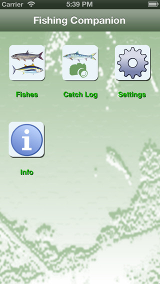MS Saltwater Fishing Companion iPhone Screenshot 2