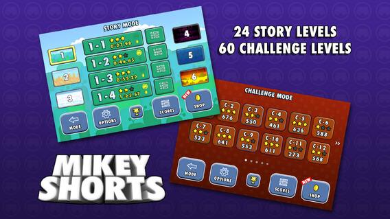 米奇的短裤:Mikey Shorts