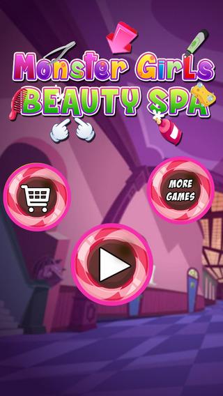 Monster Girls Beauty Spa- Little Crazy Virtual Girls Fashion Salon Game