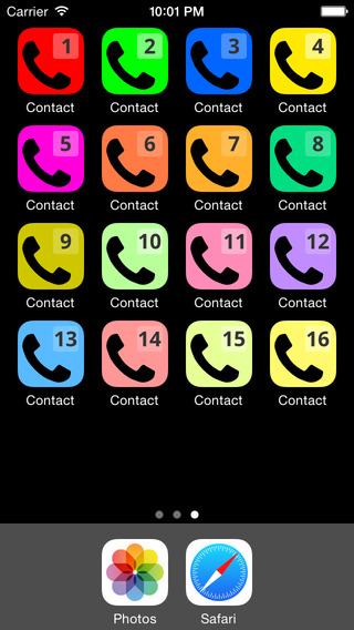 Speed Dial Contact 7