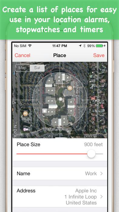 Place Clock iPhone Screenshot 3