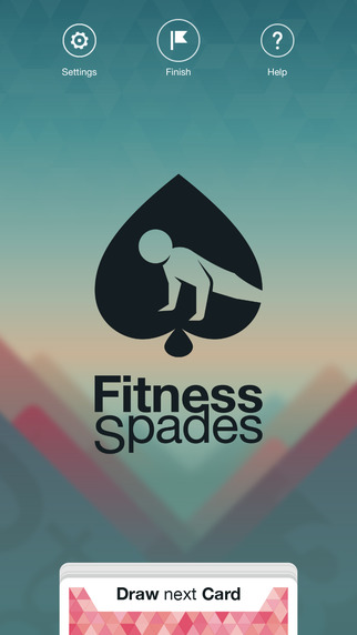 Fitness Spades: Physical Fitness Training Game to help you burn fat with body shred workouts