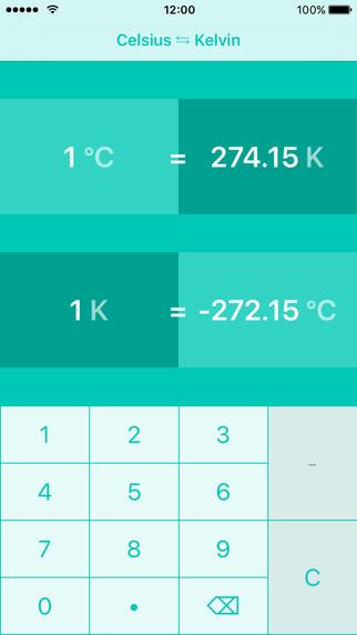 Celsius To Kelvin Conversion