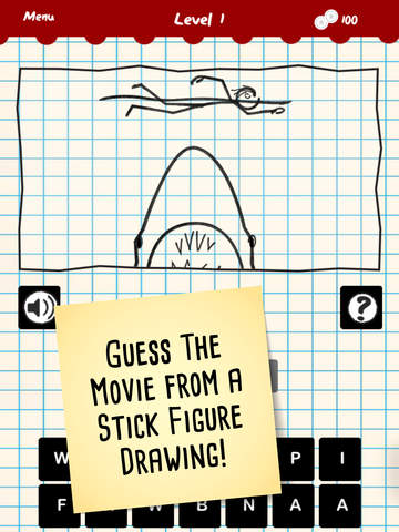 Stick Figure Movie Trivia screenshot