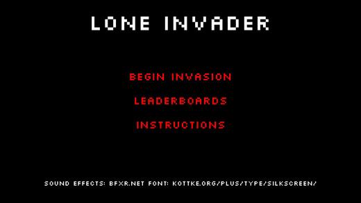 Lone Invader