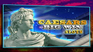 Screenshot 1 Big Win Caesars Slots — A Poker, Blackjack, & Roulette Casino Affair