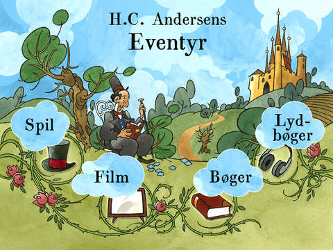 H.C. Andersens Eventyr iPad Screenshot 1