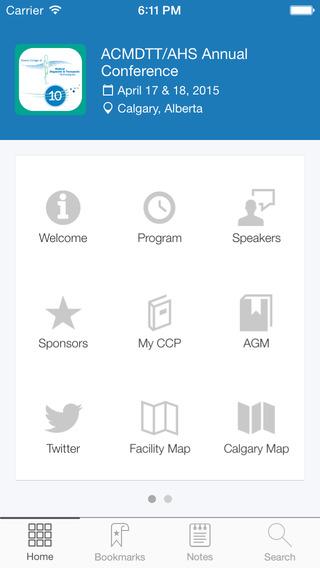 ACMDTT Conference App