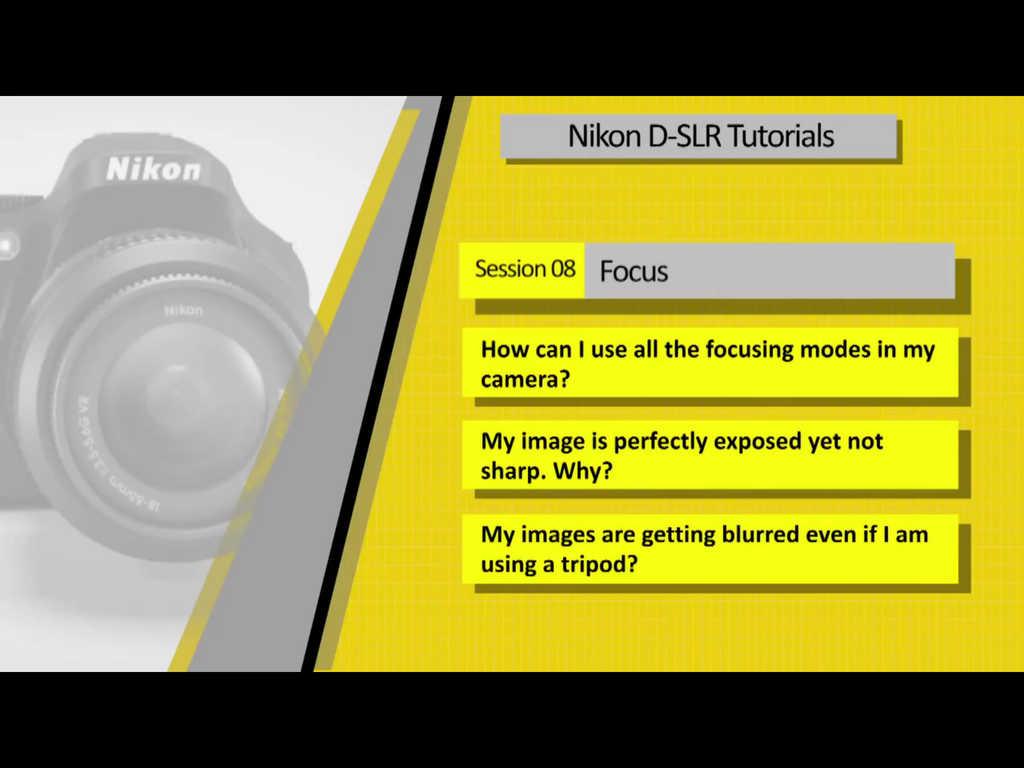 nikon d90 instructional video