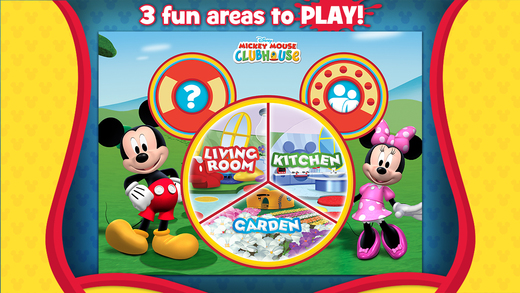 Mickey Mouse Clubhouse Color Play