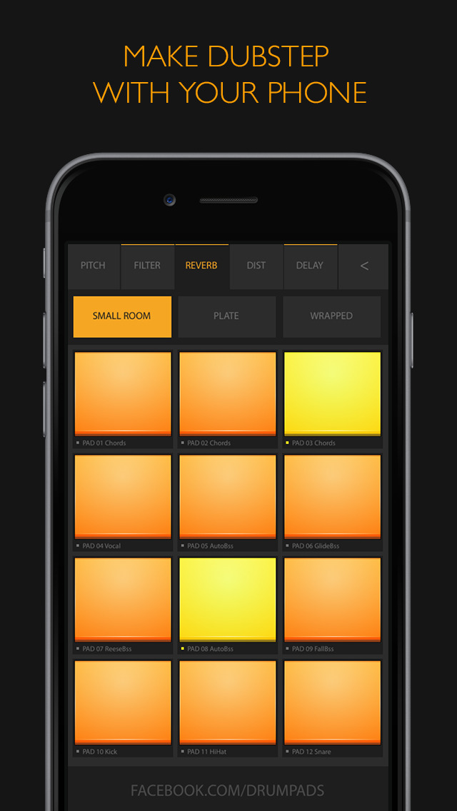 App Shopper: Dubstep Drum Pads 24 - Make Beats And Music! (Music)