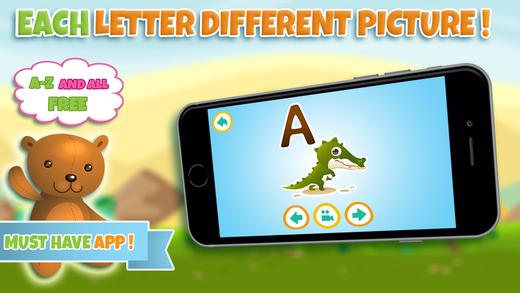 Learn Preschool ABC alphabet and letter - kindergarten learning games for kids