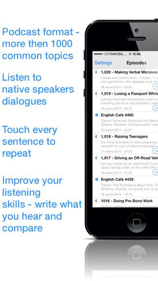 Audinglish Lite - Improve English Listening Skills