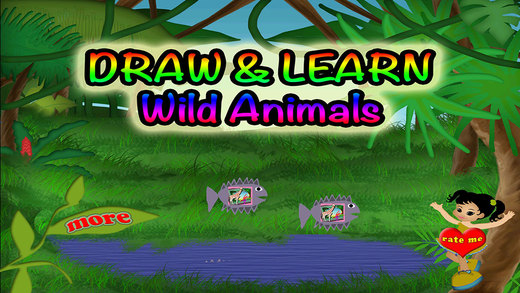Animals Draw Preschool Learning Experience In The