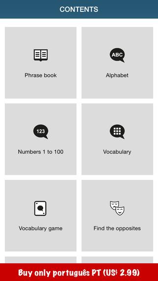 Learn Portuguese – 50 languages