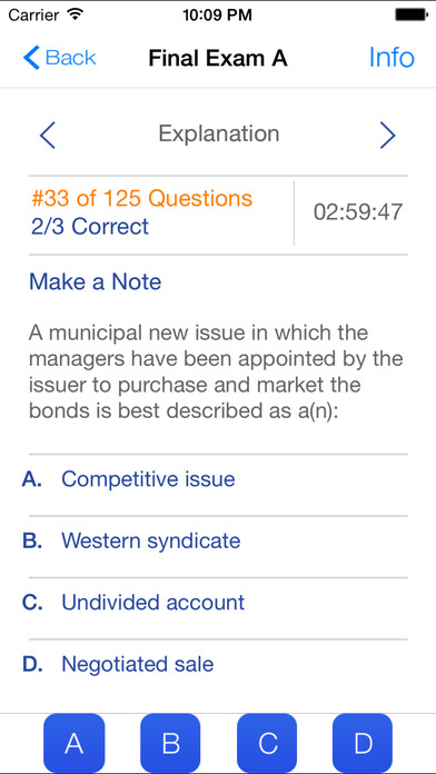 Series 7 Exam Preparation iPhone Screenshot 4
