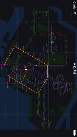 【免費旅遊App】新加坡铁路图 Lite-APP點子