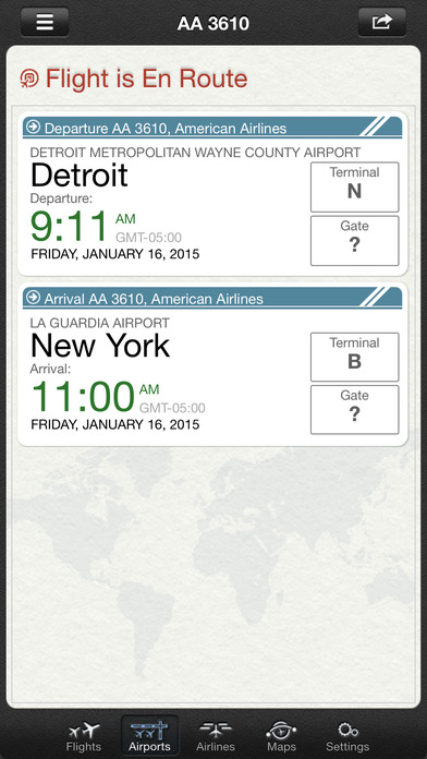 Flight+ Free - Track Live Flights - Flight Board screenshot