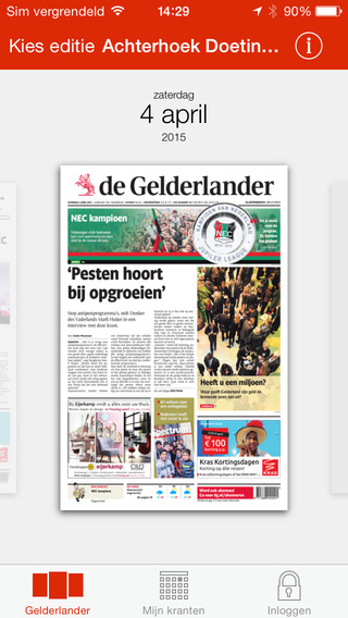 De Gelderlander Krant