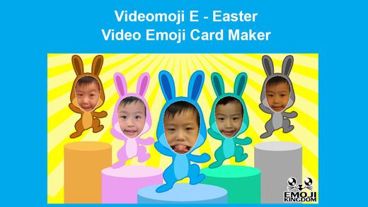 Videomoji E - Easter Video Emoji Card Maker