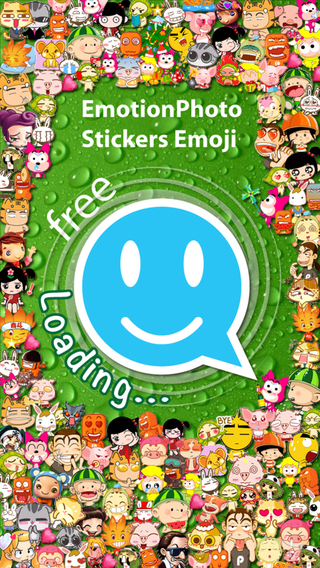 Stickers Emoji 2 for Messenger - Message WhatsApp WeChat Line Mail Facebook SMS KaKaoTalk QQ Kik Twi