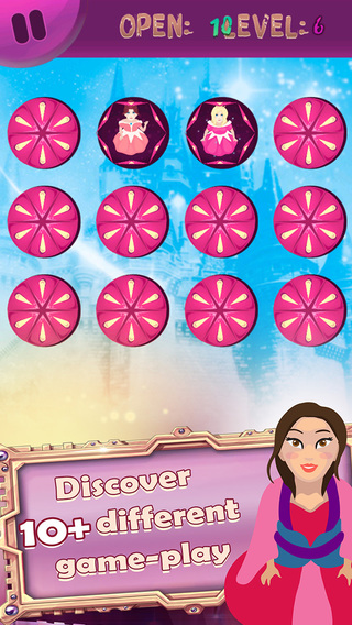 Princess Cinderelle Mania and the adventure in match cards world