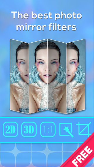 Twin Split Clone your-self pic with instant blend cam-era photo fx