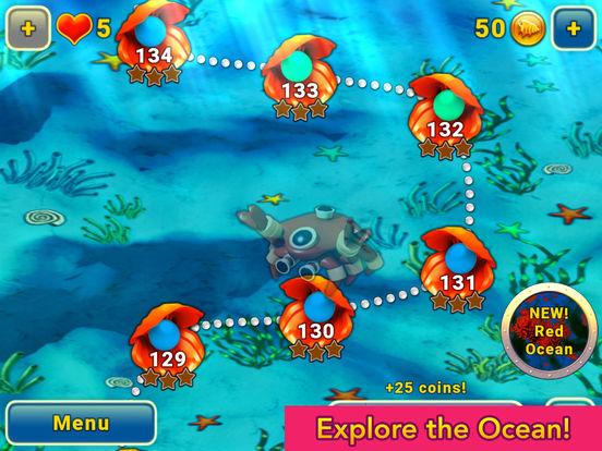 Океанукс Делюкс - Три в ряд под водой