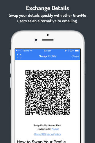 Download gravme pro electronic business card app app for iphone gravme pro electronic business card app screenshot 4 reheart Image collections