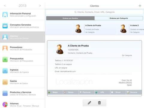 Autónomo iPad Screenshot 2