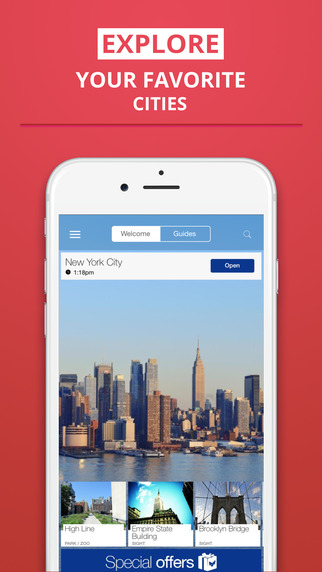 New York City - your travel guide with offline maps from tripwolf guide for sights restaurants and h