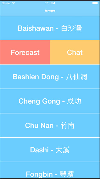 Surf Chat In Taiwan