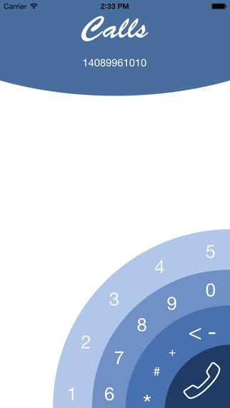 Calls - easy calls on a huge screen
