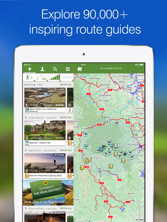 ViewRanger Outdoors GPS - Topo Maps, Trail Navigation and Route Tracker screenshot